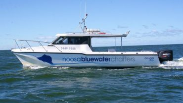 Gone fishing with Noosa Blue Water Charters