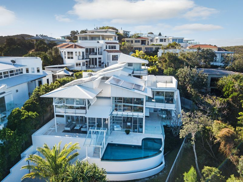 Ariel view of 4 Whale Drive niche luxury accommodation