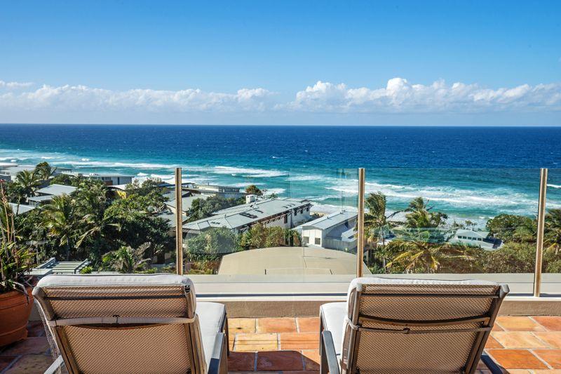 Noosa beach abodes - View of Sunshine Beach from balcony of 9-18 Bryan Street