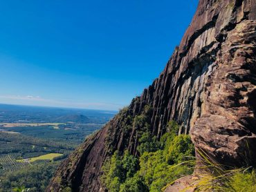 View of Beerwah Conservation Reserve, Glass House Mountains Queensland