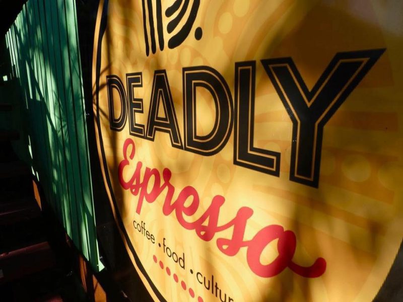 Deadly Expresso sign