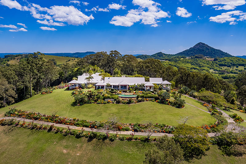 View of Noosa accommodation in the hinterland